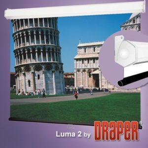 Проекционный экран Draper Luma 2 1:1 [Luma 2 305x305]