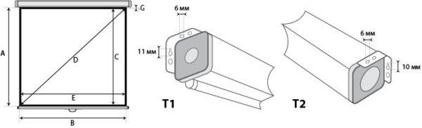 Проекционный экран Lumien Master Picture 4:3 [Master Picture 154x114]