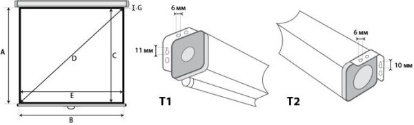 Проекционный экран Lumien Master Picture 1:1 [Master Picture 121x121]