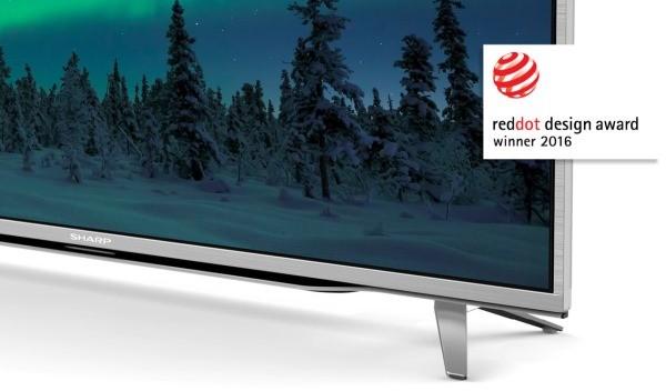 LCD телевизор Sharp LC-43CUF8462ES