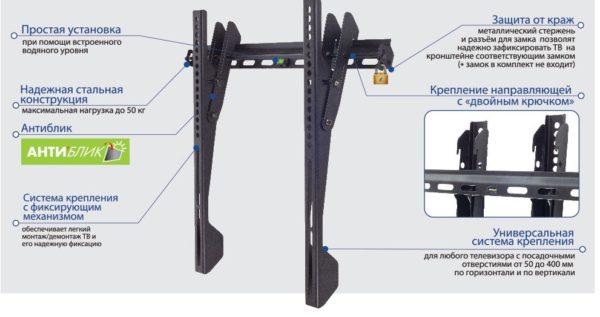 Подставка/крепление Kromax VEGA-12