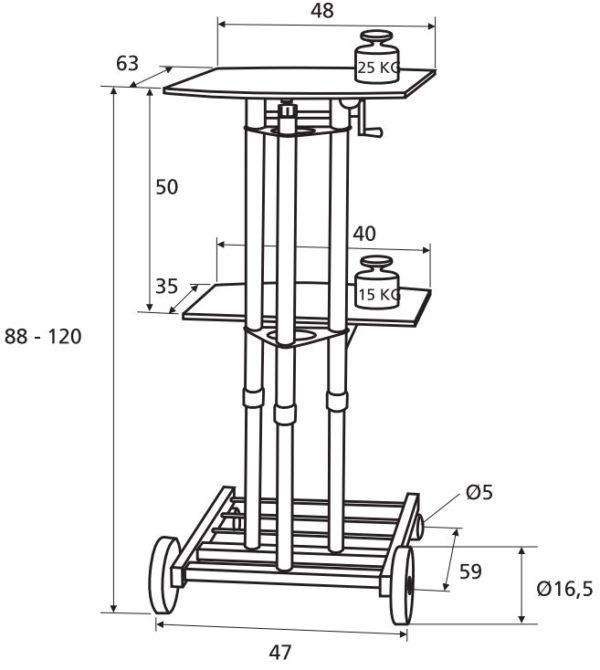 Крепление для проектора Projecta StandMaster II