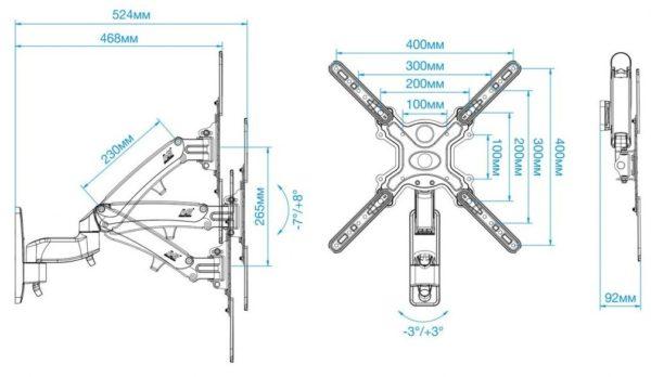 Подставка/крепление NB F500