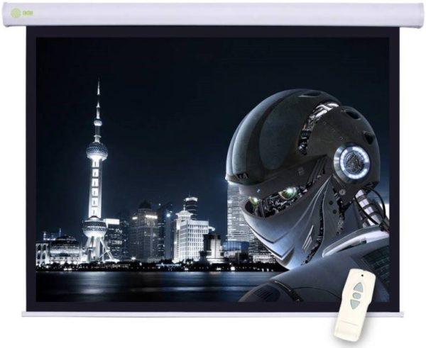 Проекционный экран CACTUS Motoscreen [Motoscreen 221x125]