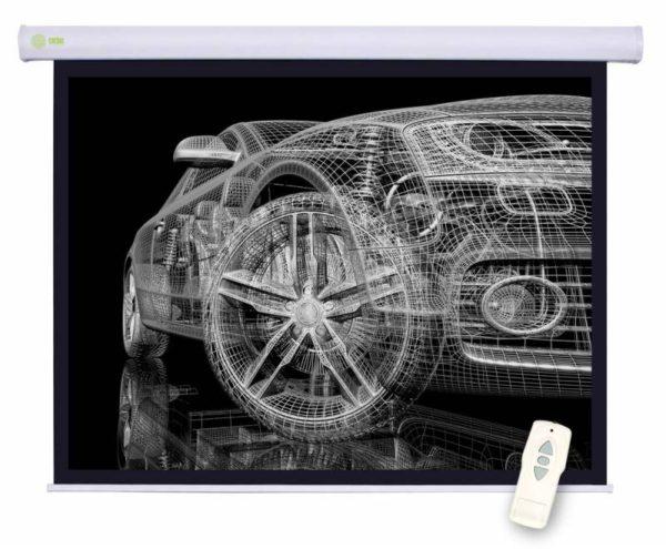 Проекционный экран CACTUS Motoscreen 1:1 [Motoscreen 127x127]