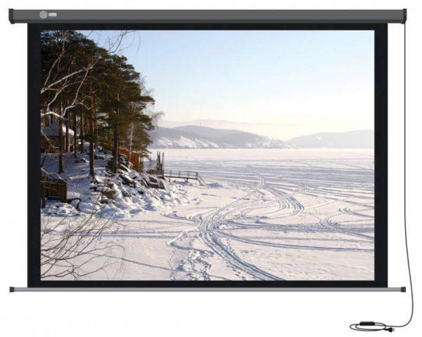 Проекционный экран CACTUS Professional Motoscreen 4:3 [Professional Motoscreen 203x152]