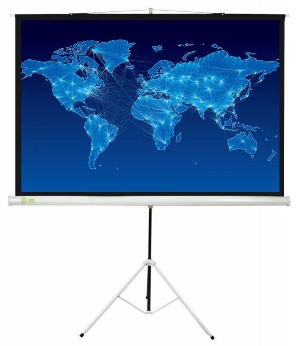 Проекционный экран CACTUS Triscreen 1:1 [Triscreen 150x150]