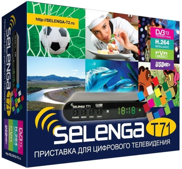 ТВ тюнер Selenga T71