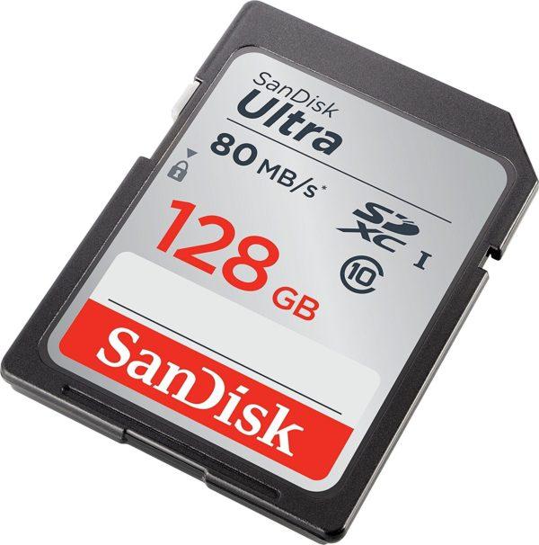 Карта памяти SanDisk Ultra SDXC UHS-I 533x Class 10 [Ultra SDXC UHS-I 533x Class 10 64Gb]