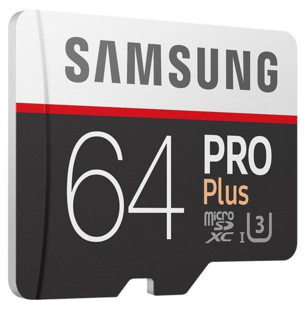 Карта памяти Samsung Pro Plus 100 Mb/s microSDXC UHS-I [Pro Plus 100 Mb/s microSDXC UHS-I 64Gb]