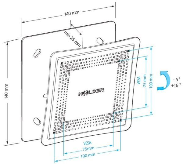 Подставка/крепление Holder LCD-T1802