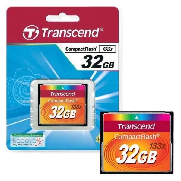 Карта памяти Transcend CompactFlash 133x [CompactFlash 133x 32Gb]