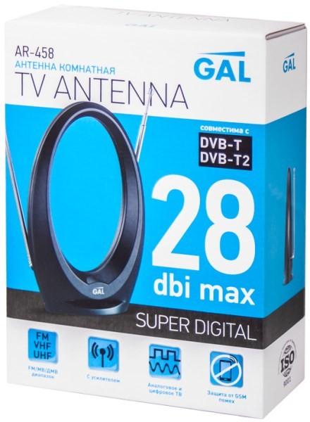 ТВ антенна GAL AR-458