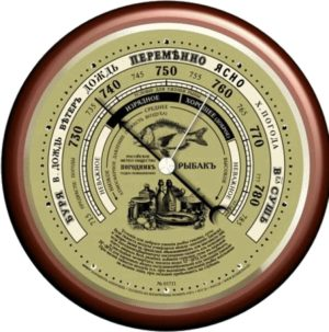 Термометр / барометр RST 05731