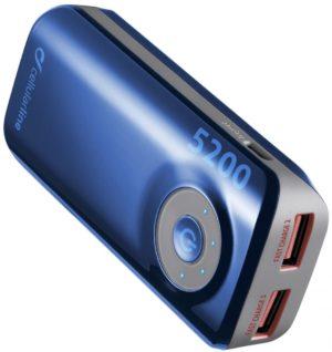Powerbank аккумулятор Cellularline Freepower Dual 5200