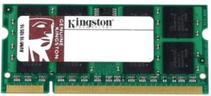 Оперативная память Kingston ValueRAM SO-DIMM DDR/DDR2 [KVR667D2S5/2G]