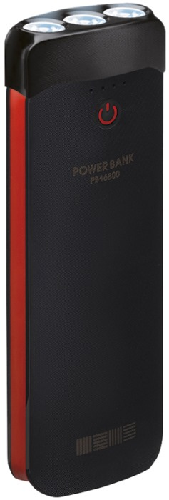 Powerbank аккумулятор InterStep PB16800LED