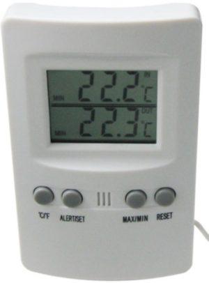Термометр / барометр S-Line TM-201