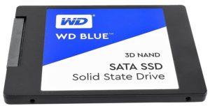 SSD накопитель WD Blue SSD 3D NAND [WDS250G2B0A]