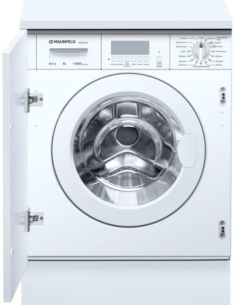 Встраиваемая стиральная машина MAUNFELD MBWM 148W