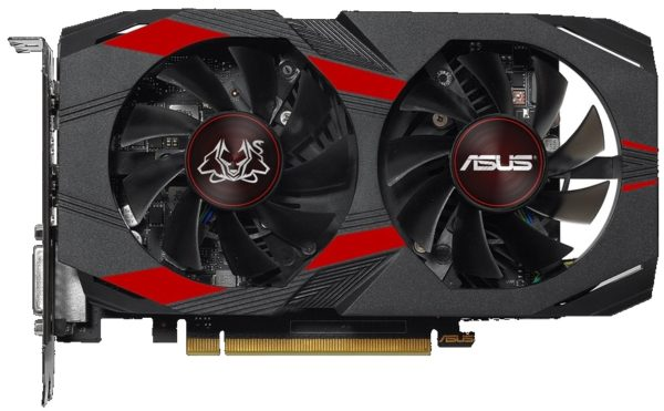 Видеокарта Asus GeForce GTX 1050 Ti CERBERUS-GTX1050TI-O4G
