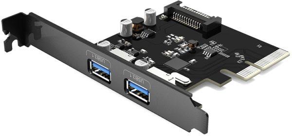 PCI контроллер Orico PA31-2P