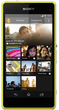 Мобильный телефон Sony Xperia Z1 Compact