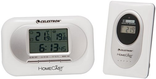 Термометр / барометр Celestron HomeCast Lite
