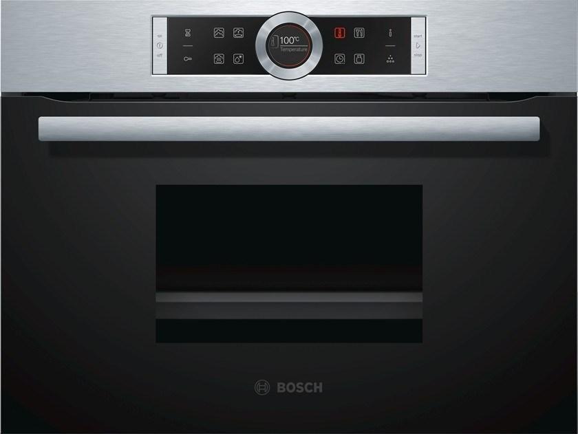 Встраиваемая пароварка Bosch CDG 634BS1