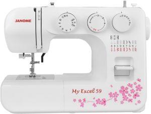 Швейная машина, оверлок Janome My Excel 59