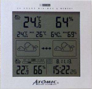 Метеостанция Atomic W739233
