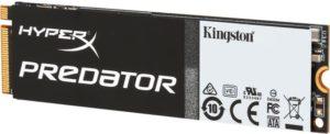 SSD накопитель Kingston HyperX Predator M.2 [SHPM2280P2/480G]