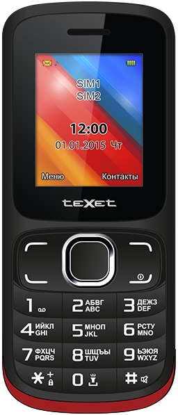 Мобильный телефон Texet TM-125