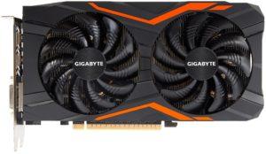 Видеокарта Gigabyte GeForce GTX 1050 Ti GV-N105TG1 GAMING-4GD