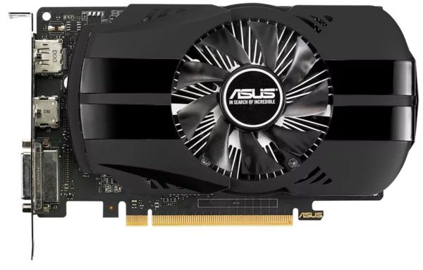 Видеокарта Asus GeForce GTX 1050 Ti PH-GTX1050TI-4G