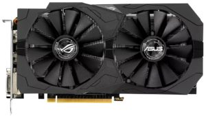 Видеокарта Asus GeForce GTX 1050 Ti ROG-STRIX-GTX1050TI-O4G-GAMING