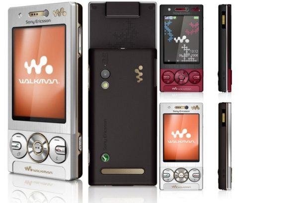 Мобильный телефон Sony Ericsson W705i
