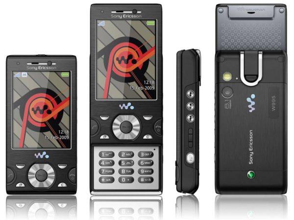 Мобильный телефон Sony Ericsson W995i